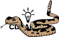 rattlesnake shilouettes and clip art | ... snake rattlesnake rattlesnakes bab0239.gif clip art animals snakes