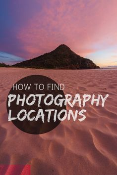 How to find photography locations. A guide to researching, scouting, and finding awesome new landscape and travel photography locations for your next photoshoot, plus how to save and collect them. Landscape Photography Tips, Photography Jobs, Photography Lessons, Outdoor Photography, Photography Business, Digital Photography, Amazing Photography, Travel Photography, Photography Backdrops