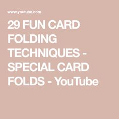 Here's an update of the different card folding techniques I've used to make these cards, boxes and other things: frame on top card (faux metal technique) car. Card Making Templates, Card Making Tips, Card Making Tutorials, Card Making Techniques, Making Ideas, Paper Folding Techniques, Card Tricks, Fancy Fold Cards, Folded Cards