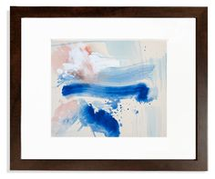 Deep Blue Abstract F