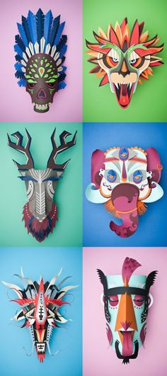 Various COOL Artworks by Thibaut van Boxtel