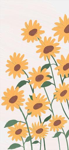 Hippie Wallpaper, Flower Phone Wallpaper, Soft Wallpaper, Iphone Background Wallpaper, Painting Wallpaper, Aesthetic Pastel Wallpaper, Kawaii Wallpaper, Cartoon Wallpaper, Aesthetic Wallpapers