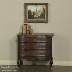 Antique Country French Furniture  | Country French Commode | www.inessa.com