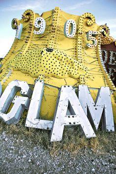 Type Inspiration from the Neon Museum / Boneyard in Las Vegas | GLAM