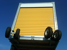 Removable Wheels | Pneumatic Wheel Casters for Portable Storage Containers - Mobile Container Sales