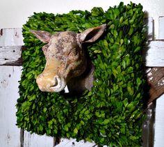 Rustic Cow Head ~ Vintage Street Designs