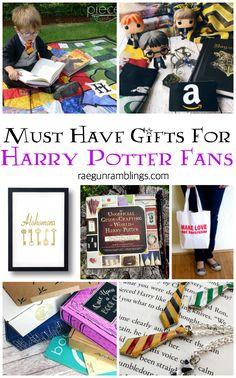 unique must have gifts harry potter fans