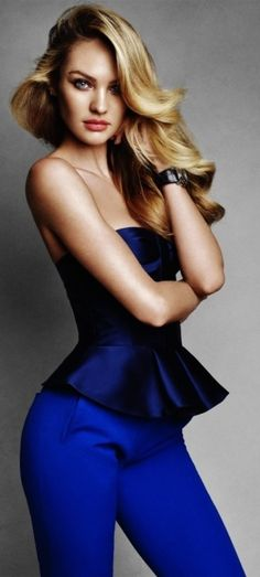 ## Candice in Blue