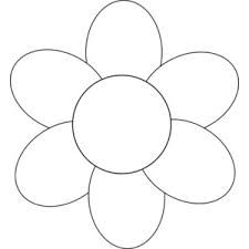 free flower outline clipart - Google Search