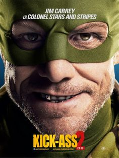 "3 nuevos posters de ""Kick-Ass 2″"