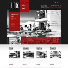 Architecture Flash CMS Template