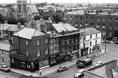 Upper Leeson Street 1970 Old Pictures, Old Photos, Dublin Ireland, Historical Photos, History, Street, Irish, Times, Historical Pictures