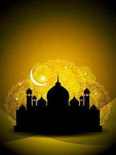 Free religious architecture background 03 vector image in encapsulated postscript . Eid Mubarak, Wallpaper Ramadhan, Ramadan Poster, Islamic Wallpaper Hd, Ramadan Background, Architecture Background, Architecture Panel, Drawing Architecture, Architecture Portfolio