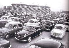 Milano domenica di partita San Siro 1950