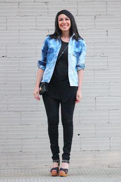 #denim #indigo #fashion #fashionblogger #fashionblog #mode #mood #zara #trends