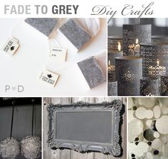 DIY: Fade to Grey Craft Ideas - Pocketful Of Dreams