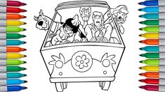 Let's color SCOOBY DOO | SCOOBY DOO Coloring Pages Scooby Doo Coloring Pages, Paw Patrol Coloring Pages, Bunny Coloring Pages, Coloring Pages For Kids, Color Bug, Tom And Jerry, Let It Be, Make It Yourself, Coloring Pages For Boys