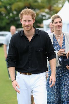 You Need These Photos of a Soaking-Wet Prince Harry in Your Life