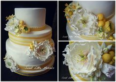 PicMonkey Collage - Yellow Wedding Cake