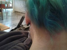 #blue #hair #capelli #azzurri