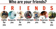 Your friends are your life and you love them immensely. Share this to show how much you admire their friendship.