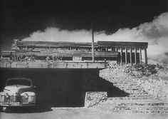 Frank Lloyd Wright. Rose Pauson House 1942. Phoenix, Arizona. (In 1943, a house fire destroyed the house)..