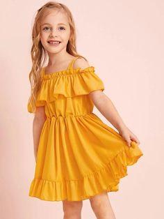 Baby Girl Frocks, Frocks For Girls, Toddler Girl Dresses, Girls Dresses, Toddler Girls, Kids Frocks Design, Baby Frocks Designs, Fashion Kids, Frock Models