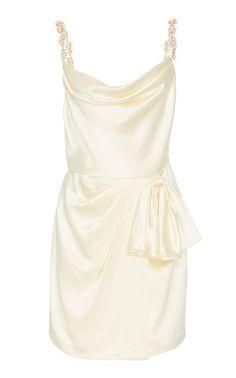 Rosetta Ivory Satin Mini Wrap Skirt Dress With Exaggerated Bow - Markarian Rosetta Ivory Satin Mini Wrap Skirt Dress With Exaggerated B Source by ShopStyle - Buy Dress, Knit Dress, Dress Skirt, Peplum Dress, Wrap Dress, Dress Outfits, Fashion Outfits, Cute Outfits, Womens Fashion
