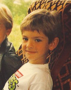 A young Andrew Garfield.