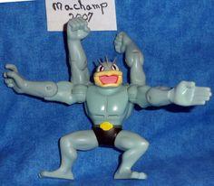 "Nintendo Pokemon Electronic MaChamp JAKKS 5"" Tall Mega Action Figure E8 #Nintendo"