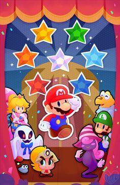Paper Mario by Hollulu.deviantart.com on @DeviantArt