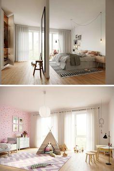 Ein Traum Für Klein Und Groß! Ob Tipi, Rosa Wandfarbe Oder Begehbarer  Kleiderschrank