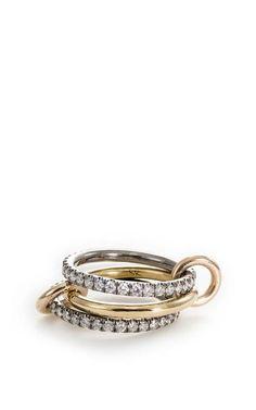 Celeste Linked Rings by Spinelli Kilcollin for Preorder on Moda Operandi