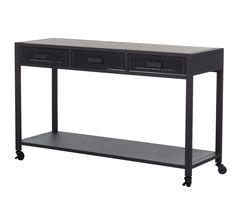 Tables D'appoint Et Consoles - Console PARK AVENUE Noir mat