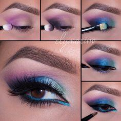 Pin by kristina rivera on makeup inspirations хайлайтер макияж, макияж, мак Creative Makeup, Diy Makeup, Love Makeup, Makeup Inspo, Makeup Inspiration, Beauty Makeup, Pretty Makeup, Makeup Ideas, Makeup Art