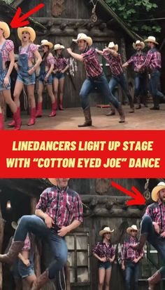 #Linedancers #Light #Stage #Cotton #Eyed #Joe #Dance