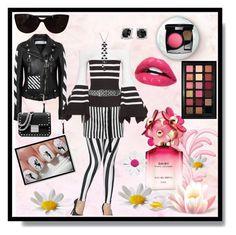 """Bold stripe!!!"" by jaja8x8 on Polyvore featuring mode, Ann Demeulemeester, Off-White, Rosetta Getty, Tiffany & Co., MICHAEL Michael Kors, Faith Connexion, Chanel, David Yurman et Marc Jacobs"