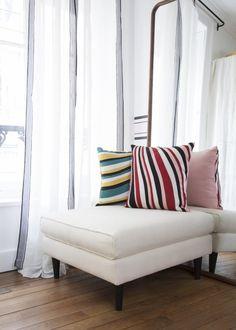 Des coussins colorés / colored cushions