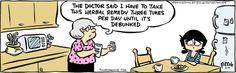 Tina's Groove cartoon for Aug/14/2014