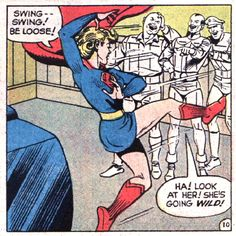 It's A Bird! It's A Dame! It's Your Illustrated Guide To Supergirl! - Flashbak