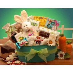Deluxe easter delights gourmet gift basket for the whole family ultimate easter selection negle Image collections