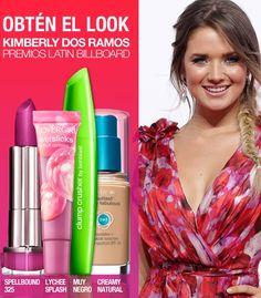 Latina actress Kimberly dos Ramos looked gorgeous last night at the Latin Billboard Awards, don't you just love her makeup?