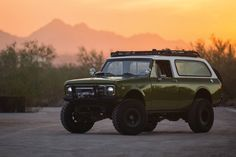 The 'International Scout II' Gets an Aggressive Update