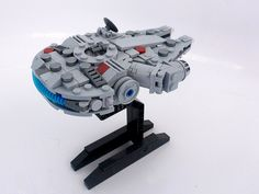 Milleniumn Falcon - Microscale | Rear angle of the mico-scal… | Flickr