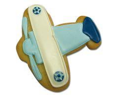 Biplane cookies
