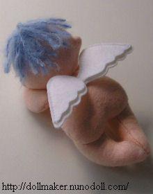 Angel baby tutorial