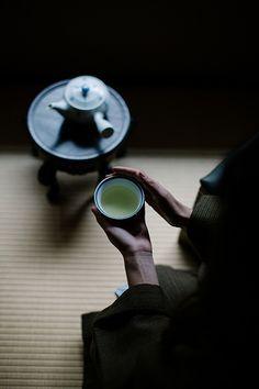 Japanese Green Tea, Ryokucha - Beth Kirby | {local milk}