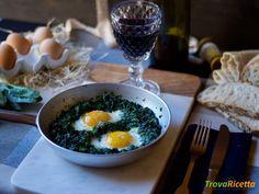 Uova alla fiorentina  #ricette #food #recipes