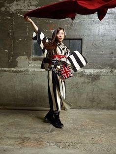 Mod Pop Punk: Contemporary Kimono by Modern Antenna 2