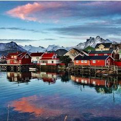 Norway's Lofoten Islands are best known for their excellent fishing and nature attractions. Here is a small sample of what you can do on Lofoten: dive the Arctic Circle, fish with professional fishermen and, most importantly, watch the Northern Lights! Sounds like the perfect honeymoon to me!